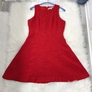 Banana republic red dress Perfect for the Holidays